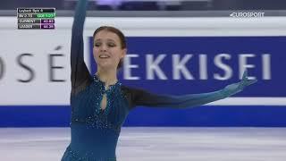 Победное выступление Щербаковой в короткой программе ЧМ 2021