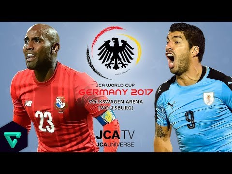 Panama vs. Uruguay | Group A | 2017 JCA World Cup Germany | PES 2017