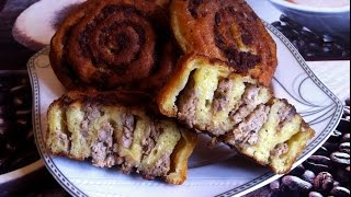 Шанежки с Мясом (Очень Вкусно) / Шаньги / Простой Рецепт