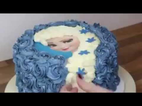 Resep Kue Dan Cara Menghiaskue Ulang Tahun Frozen Princess Cake