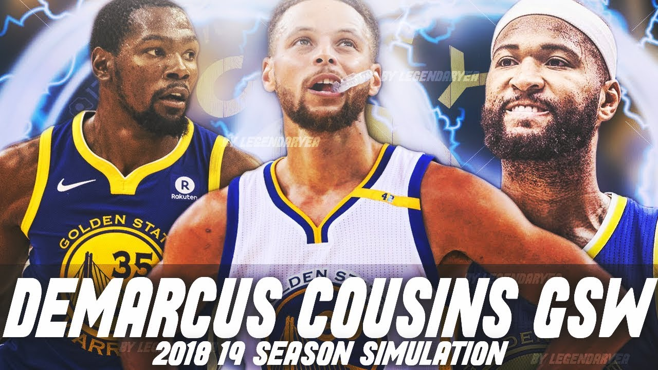 low priced 74764 6c881 SIMULATING THE 2018-19 GOLDEN STATE WARRIORS SEASON! GREATEST TEAM OF ALL  TIME?! NBA 2K18