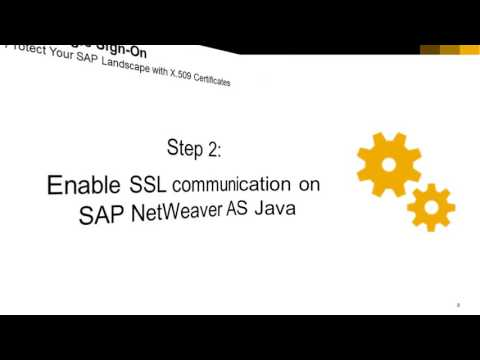 SAP Single Sign-On with X 509 Certificates, Part 1/5: Overview