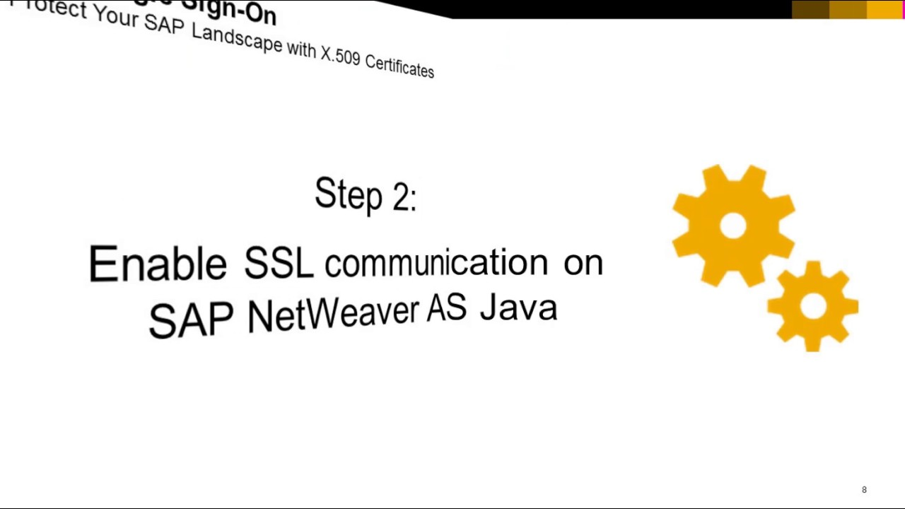 Sap Single Sign On With X509 Certificates Part 15 Overview