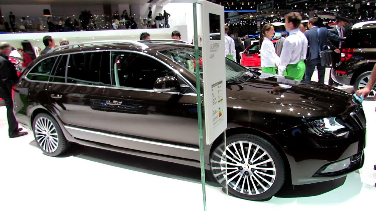 2014 skoda superb combi 4x4 laurin klement exterior interior walkaround 2014 geneva motor. Black Bedroom Furniture Sets. Home Design Ideas