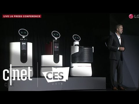 LG's concept robots cater to your every need