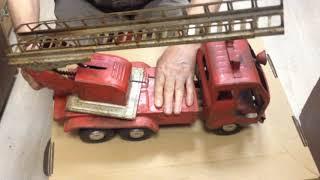 Іграшка Пожежна Машина Сім Серп і Молот Камаз СРСР
