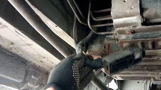 Загорелся SERV и ABS Рено Трафик 2005 1.9 dci
