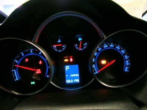 Holden cruze engine light