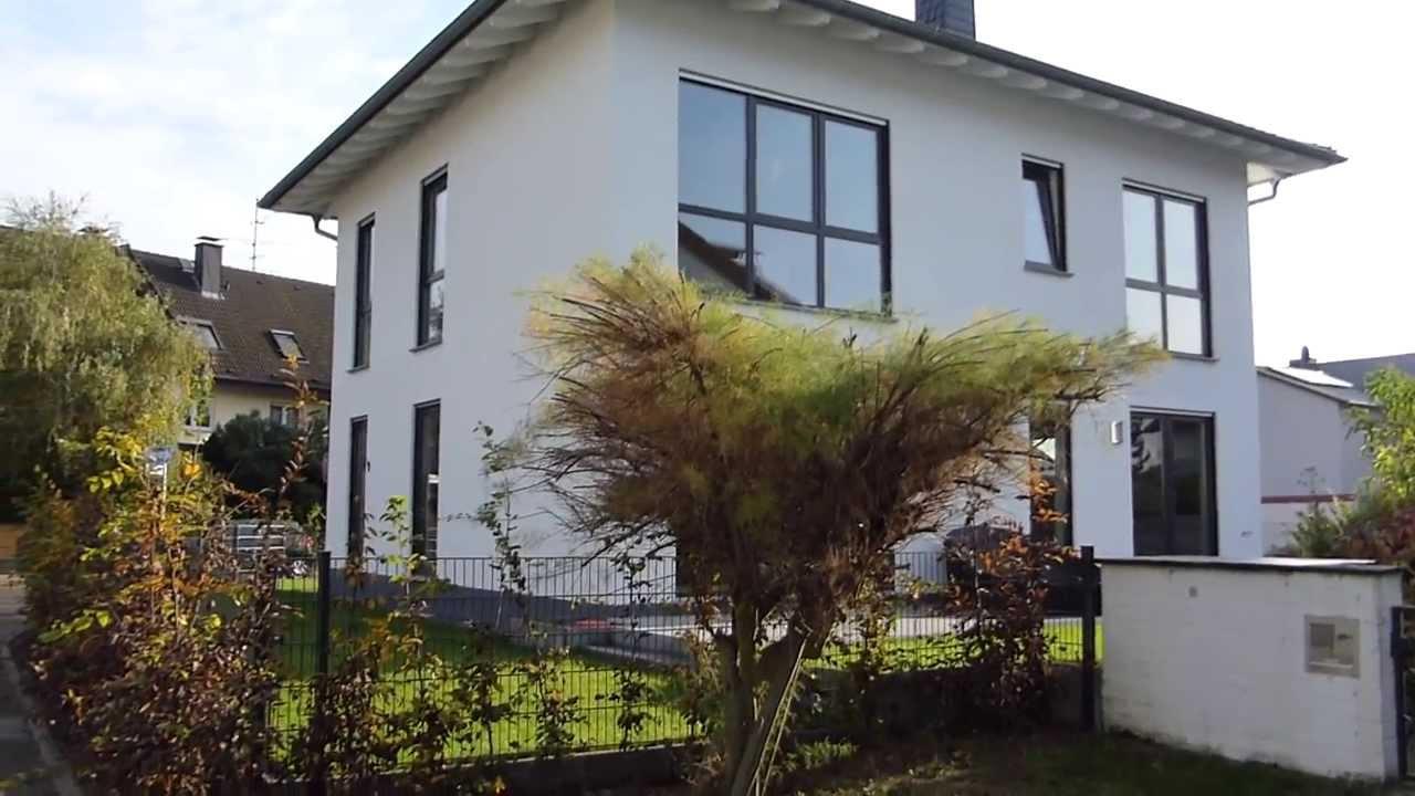 stadtvilla in hattersheim 20 das haus wurde bezogen und die au enanlagen fertiggestellt youtube. Black Bedroom Furniture Sets. Home Design Ideas