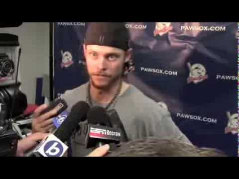 Clay Buchholz Postgame Interview after rehab start in Pawtucket