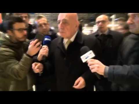 """Adriano Galliani: """"Destro decide domattina. Inzaghi saldo"""""""