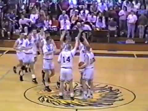 1992 Findlay High School Basketball vs Moweaqua 94-52