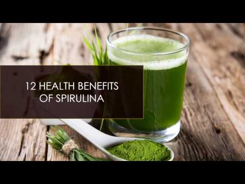 12 Proven Health Benefits of Spirulina!