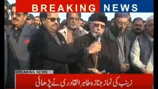 Dr Tahir Ul Qadri Media Talk After Kasur Incident! Bashing on Noon League Geo News 3pm 10 Jan 2018