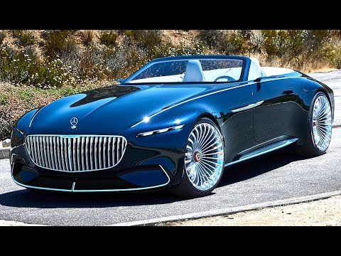 Mercedes Maybach 6 Cabriolet World Premiere 2018 Vision Electric
