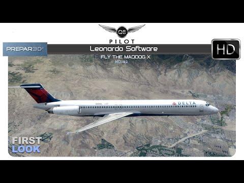 [Prepar3D] Fly the Maddog X MD82 by Leonardo SH   First Look