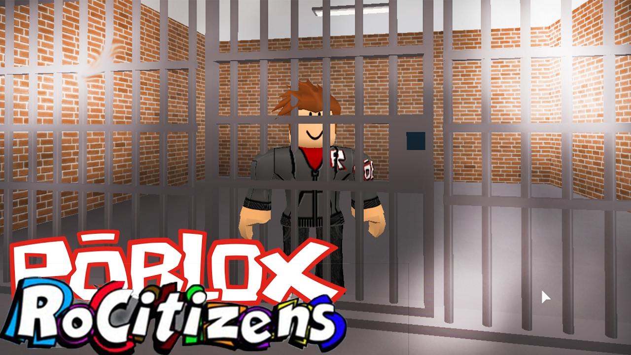 Praca Policji I Złodzieja Rocitizen 2 Roblox 41 Youtube