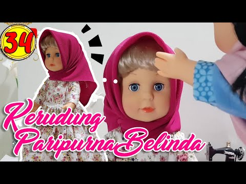 # 34 Kerudung Paripurna Belinda - Boneka Walking Doll Cantik Lucu -7L | Belinda Palace