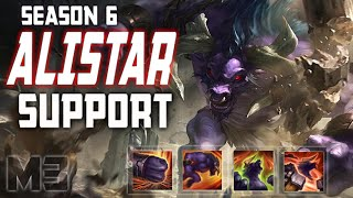 How to Play Alistar Support Season 6 League of Legends Guide