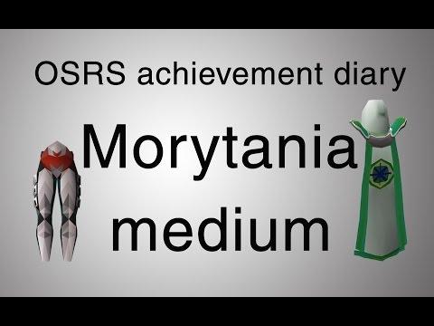 [OSRS] Morytania medium diary guide