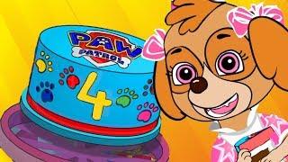 Paw Patrol Skye's बच्चों के लिए जन्मदिन एनिमेशन!