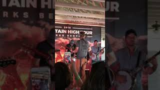 Dierks Bentley VIP Pre-Show Acoustic Performance - Up on the Ridge LIVE - Mountain High Tour 2018