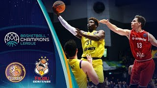 UNET Holon V Filou Oostende - Highlights - Basketball Champions League 2019-20