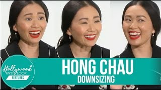 Hong Chau Exclusive Interview | Making of: DOWNSIZING (2017)