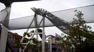 Universal Studios Japan - Hollywood Dreams Roller Coaster Corkscrew