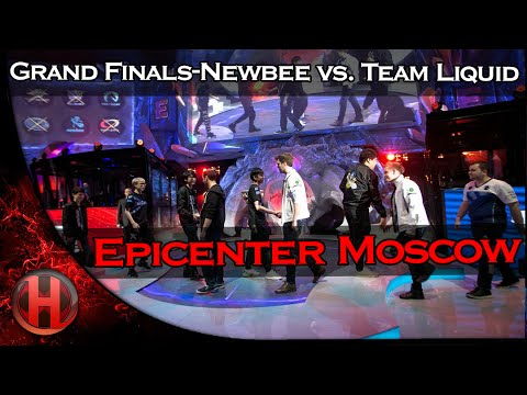 Grand Finals - Team Liquid vs. Newbee Dota 2 Epicenter Moscow