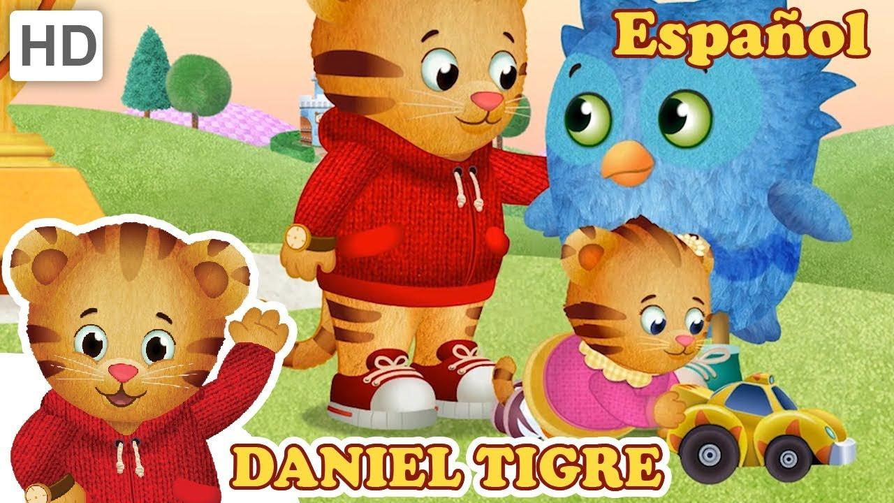 Daniel Tigre en Español - Jugando con mi Hermana y Amigos ...