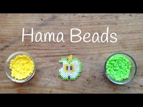 Manualidades con hama beads, aprende a hacer una deliciosa manzana