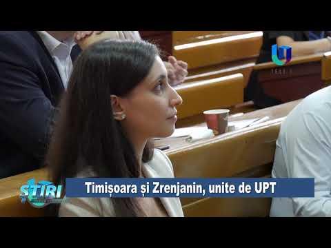 TeleU: Timișoara și Zrenjanin, unite de UPT