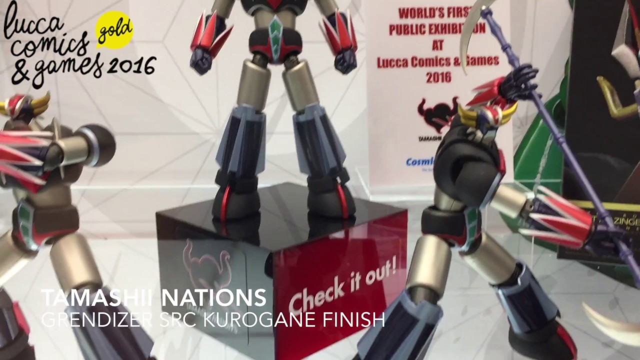 BANDAI GRENDIZER SUPER ROBOT CHOGOKIN GOLDRAKE KUROGANE FINISH SRC