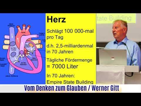 Werner Gitt / Gehirn und Geist / Was ist der Mensch? Vortrag in der Ev. Stadtmission Rinteln, Live