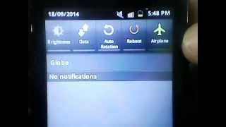 Galaxy Y GT-S5360 With Wi-fi Hotspot (Wifi AP) Statusbar Toggle On Stock ROM