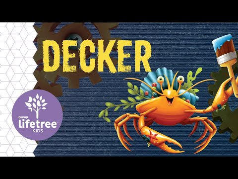 Decker the Decorator Crab | Buzzly's Buddies | Maker Fun Factory VBS