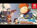 Scribblenauts Mega Pack PREVIEW!  Return to GOTHAM (Nintendo Switch)