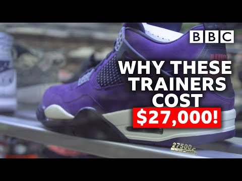 Could you make millions investing in trainers?  - BBC