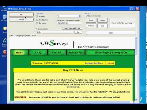 Awsurveys bot v2 6 download