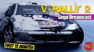 V-Rally 2 - Sega Dreamcast (First 15 Minutes) Ep. 11