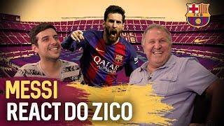ZICO REAGE AO MESSI - React #5 | Canal Zico 10