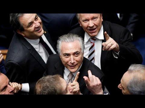 Temer officially sworn in as Brazilian president