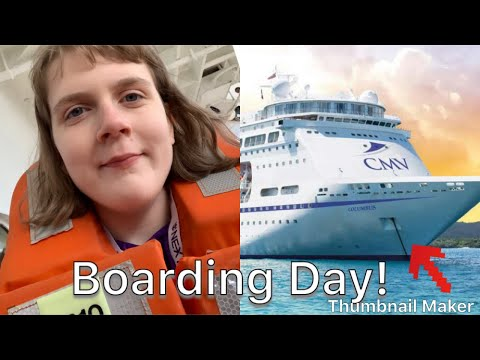 Boarding Day Columbus Cruise and Maritime