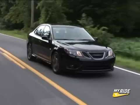 review 2008 saab 9 3 turbo x youtube. Black Bedroom Furniture Sets. Home Design Ideas