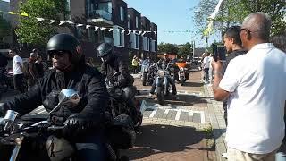 Motorrit voor de Molukken in Middelburg - 22 juni 2019