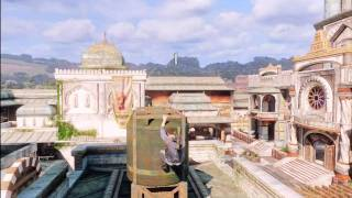Uncharted 3 Grenade Magic 7 - Museum Sniper Roof