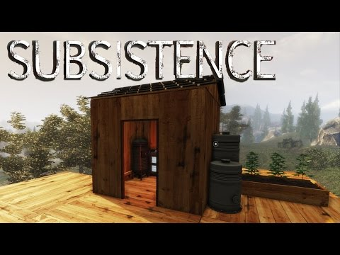 Subsistence - Ore Refinery Installed, Wellhead Operational, Hunter Base - Gameplay Highlights Ep 7