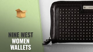 Top Selected Women Wallets By Nine West [2018 ]: Pretty Little Things Zip Around Wallet, Black, One