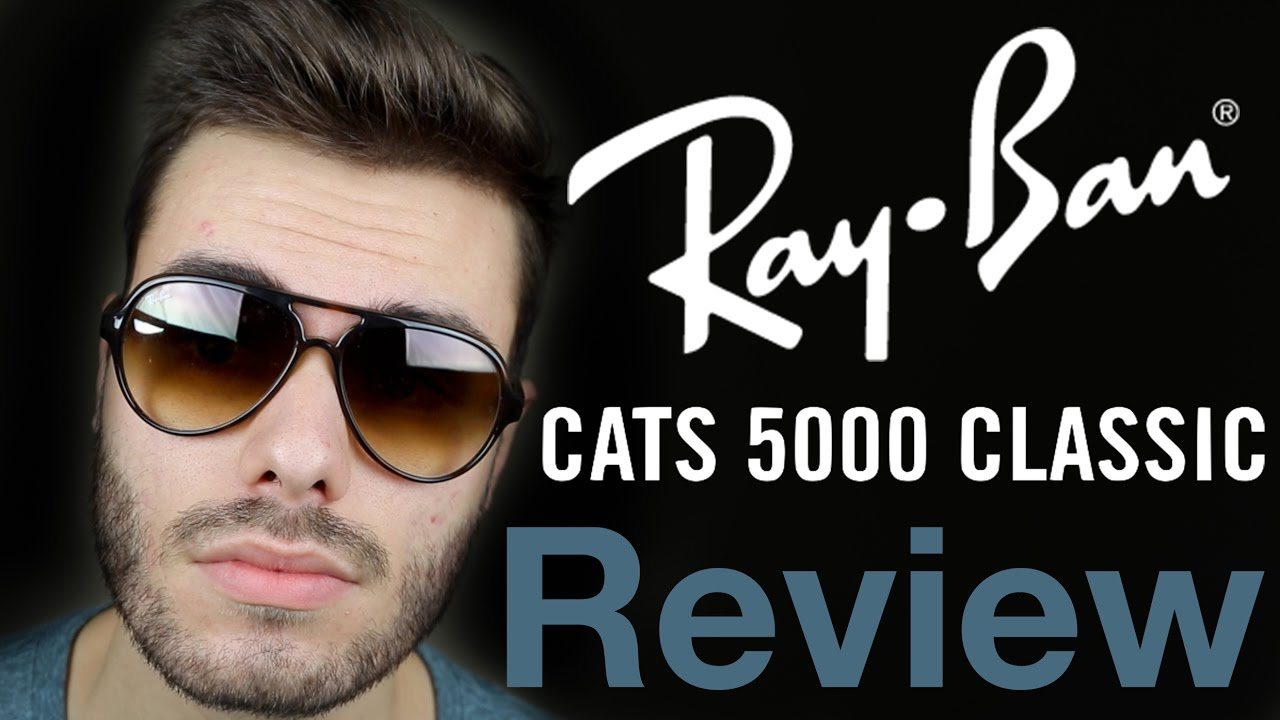 22db33a2597 ... best price ray ban cats 5000 review youtube 70b7a 8cd2d